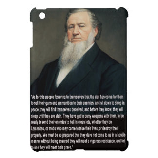 Brigham Young on Guns Cover For The iPad Mini