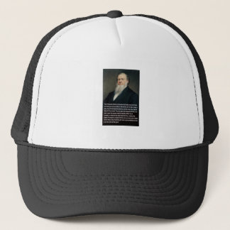 Brigham Young on Guns Trucker Hat