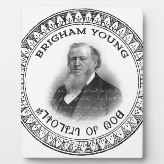 Brigham Young Prophet of God Collector Edition! Photo Plaque
