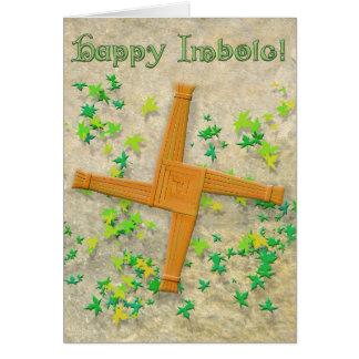 Brighid Cross Card