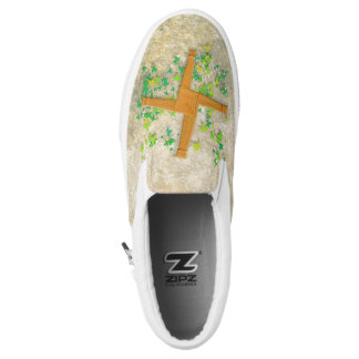 Brighid Cross Slip On Shoes