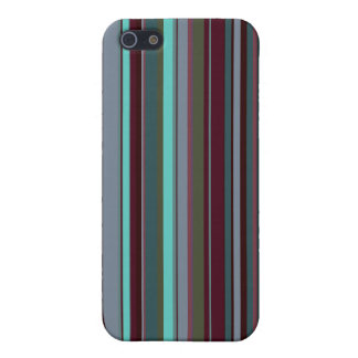 Bright 60s Retro Stripes iPhone 5/5S Covers