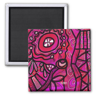 Bright Abstract Magnet