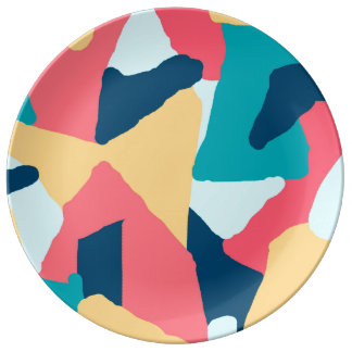 Bright Abstraction Plate
