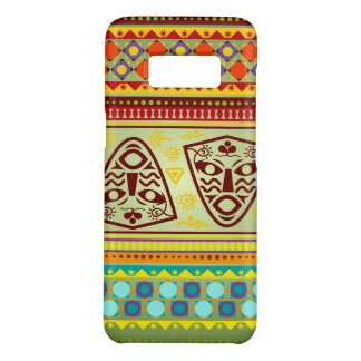 Bright African Mask Tribal Pattern Case-Mate Samsung Galaxy S8 Case