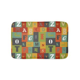 Bright Alphabet Bath Mat