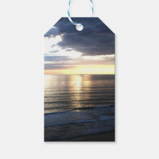 Bright and Colorful Sunset Gift Tags