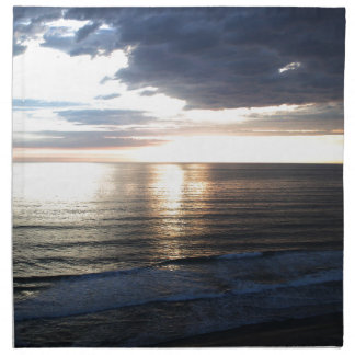 Bright and Colorful Sunset Napkin
