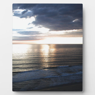 Bright and Colorful Sunset Plaque