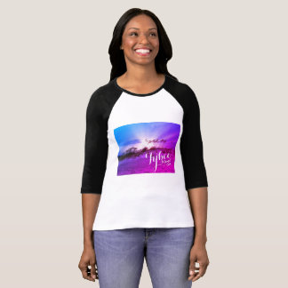 Bright and Colorful Tybee Island, GA Sunset T-Shirt