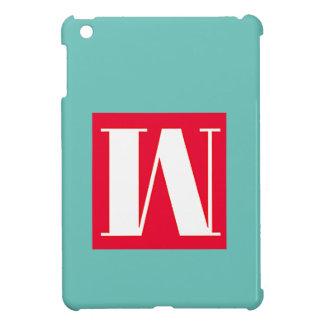 Bright and Elegant Alphabet Monogram Case For The iPad Mini