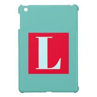 Bright and Elegant Alphabet Monogram Cover For The iPad Mini
