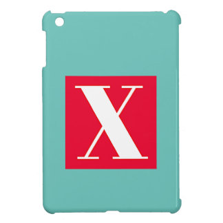 Bright and Elegant Alphabet Monogram Cover For The iPad Mini