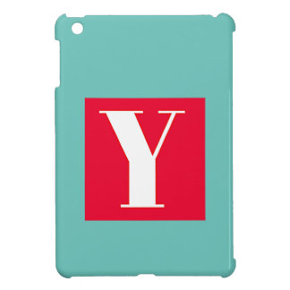 Bright and Elegant Alphabet Monogram iPad Mini Case
