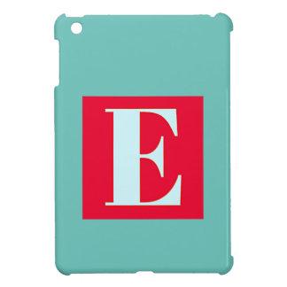 Bright and Elegant Alphabet Monogram iPad Mini Case