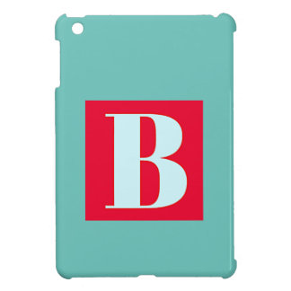 Bright and Elegant Alphabet Monogram iPad Mini Cases