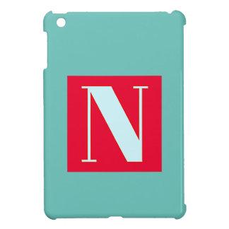 Bright and Elegant Alphabet Monogram iPad Mini Covers