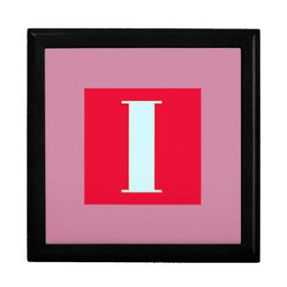 Bright and Elegant Alphabet Monogram Large Square Gift Box