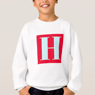 Bright and Elegant Alphabet Monogram Sweatshirt