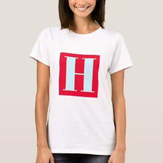 Bright and Elegant Alphabet Monogram T-Shirt