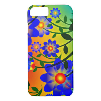 Bright and Vibrant Floral iPhone 8/7 Case