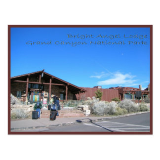 Bright Angel Lodge Grand Canyon National Park Postcard