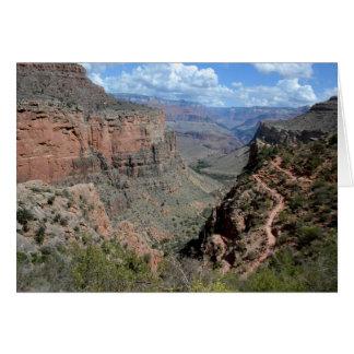 Bright Angel Trail, Grand Canyon Card
