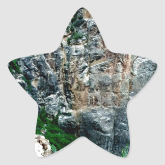 Bright Angel Trail Grand Canyon National Park Star Sticker