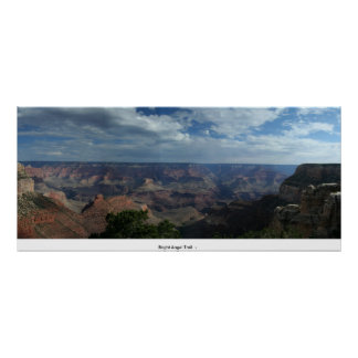 Bright Angel Trail   Grand Canyon Poster