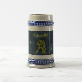 Bright Aquarius Beer Stein
