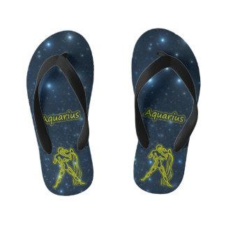 Bright Aquarius Kid's Thongs