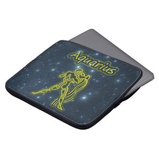 Bright Aquarius Laptop Sleeve