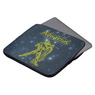 Bright Aquarius Laptop Sleeve