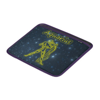 Bright Aquarius MacBook Sleeve