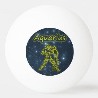 Bright Aquarius Ping Pong Ball