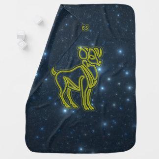 Bright Aries Baby Blanket