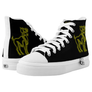 Bright Aries High Tops