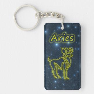 Bright Aries Key Ring