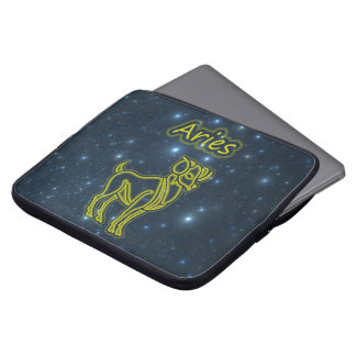 Bright Aries Laptop Sleeve