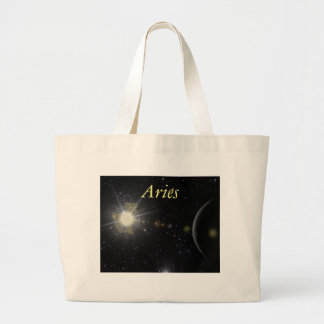 Bright Aries Large Tote Bag