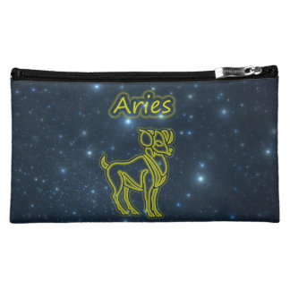 Bright Aries Makeup Bag