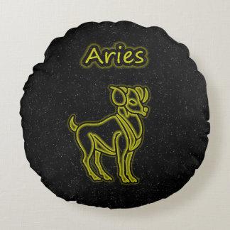 Bright Aries Round Cushion