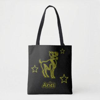 Bright Aries Tote Bag
