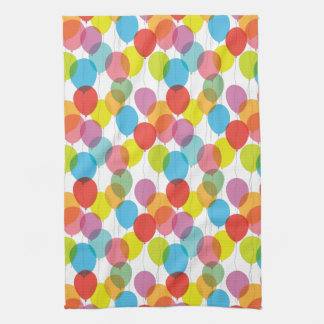 Bright Balloons Kitchen Towel