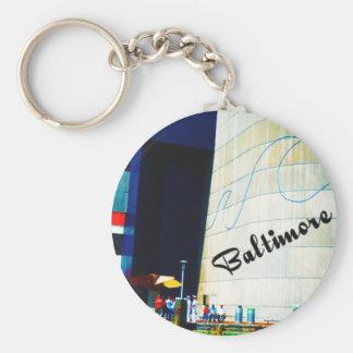Bright Baltimore Keychain