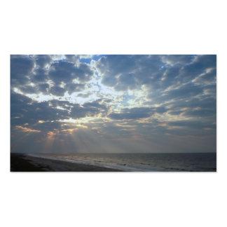 Bright Beach Morning - Oak Island, NC Pack Of Standard Business Cards