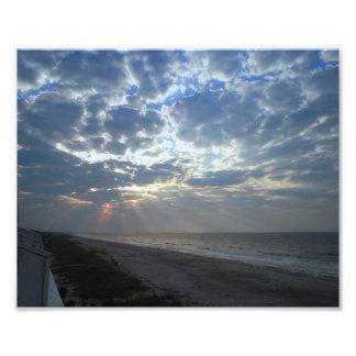 Bright Beach Morning - Oak Island, NC Photo Art