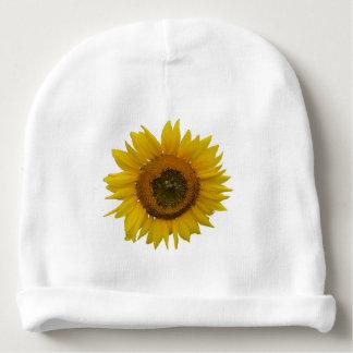 Bright Beautiful Sunflower Baby Beanie