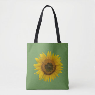 Bright Beautiful Sunflower Tote Bag