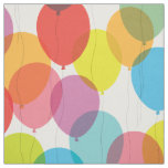 Bright Birthday Balloons Fabric